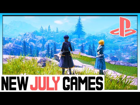 ALL 13 NEW PS4 Games Releasing JULY 2020 - Upcoming Games 2020 For PS4