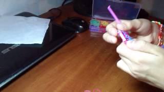 Обучение плетению браслетов урок 1! Браслет цепочк