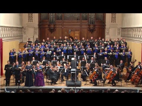 SCHUBERT - Agnus Dei - European Union Choir Brussels