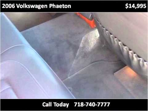 2006 Volkswagen Phaeton Used Cars Queens Village NY