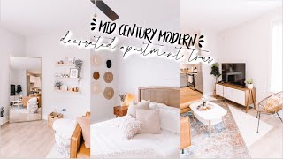 OFFICIAL APARTMENT TOUR | Mid Century Modern Decorated Apartment 2020 Tour