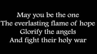 Rhapsody of Fire - Aeons of Raging Darkness (with lyrics)