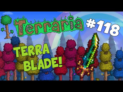 Let's Play Terraria (1.2) iOS/Android - Terrablade! - 118