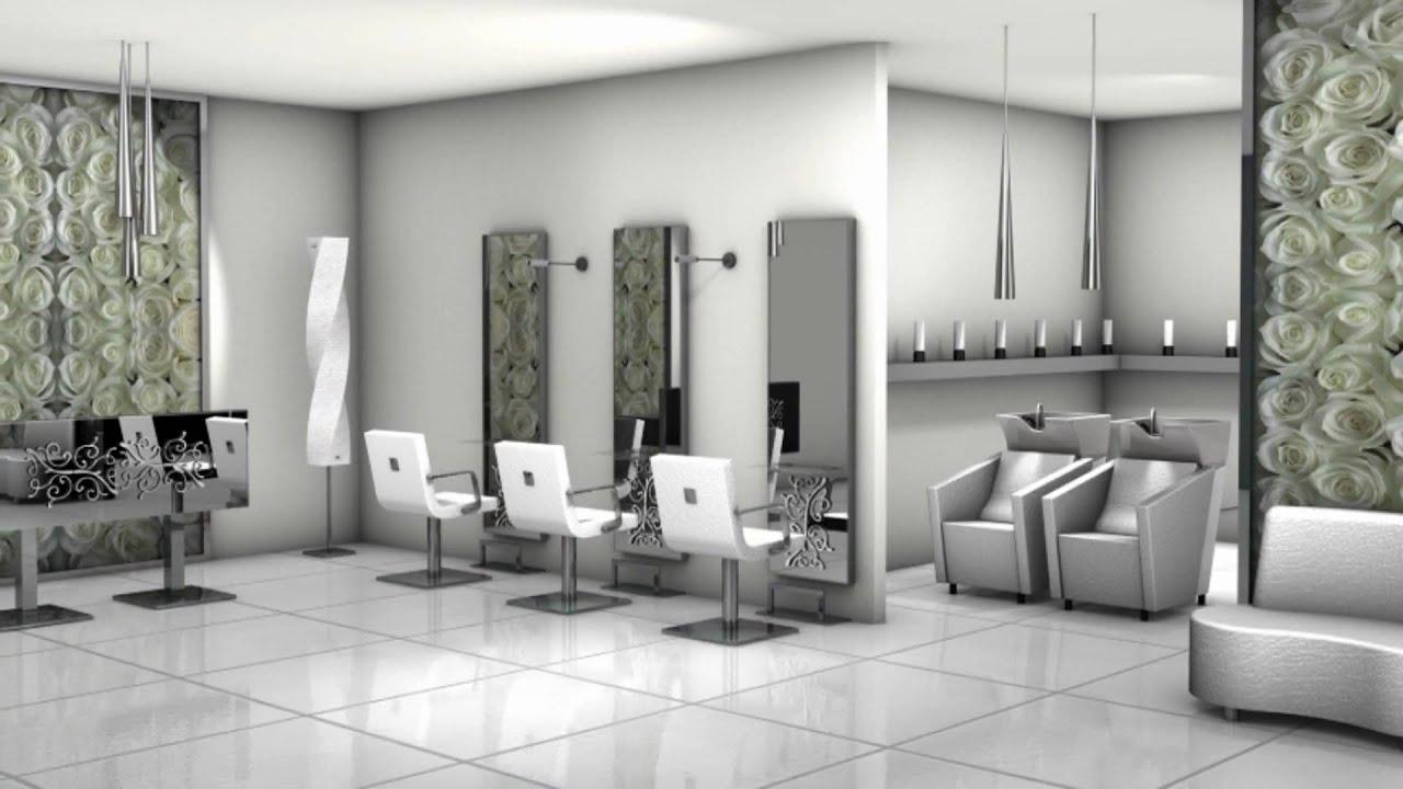 Vezzosi arredamenti per parrucchieri youtube for Arredamenti moderni per interni