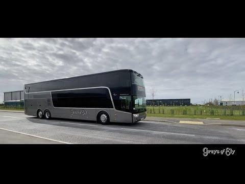 Luxury Double Deck Coach Hire