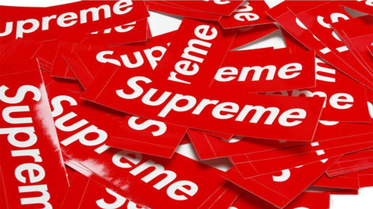 HOW TO GET AUTHENTIC SUPREME STICKERS FOR $5 - YouTube