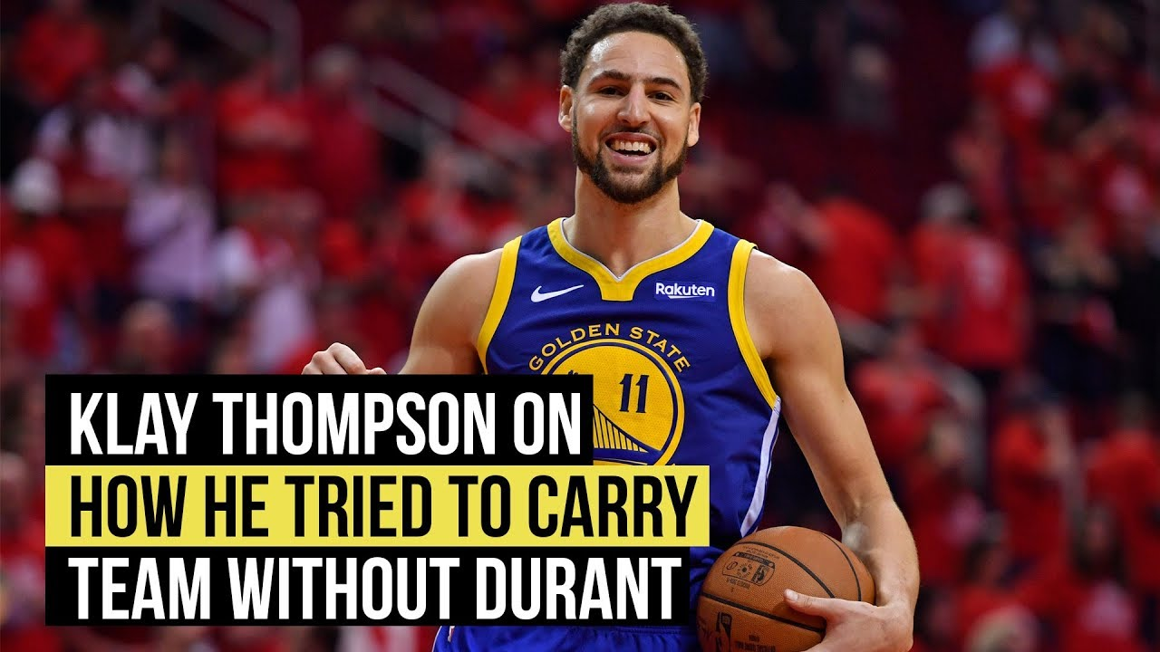 NBA playoffs: Thompson on how he tried to make up for Durant's absence