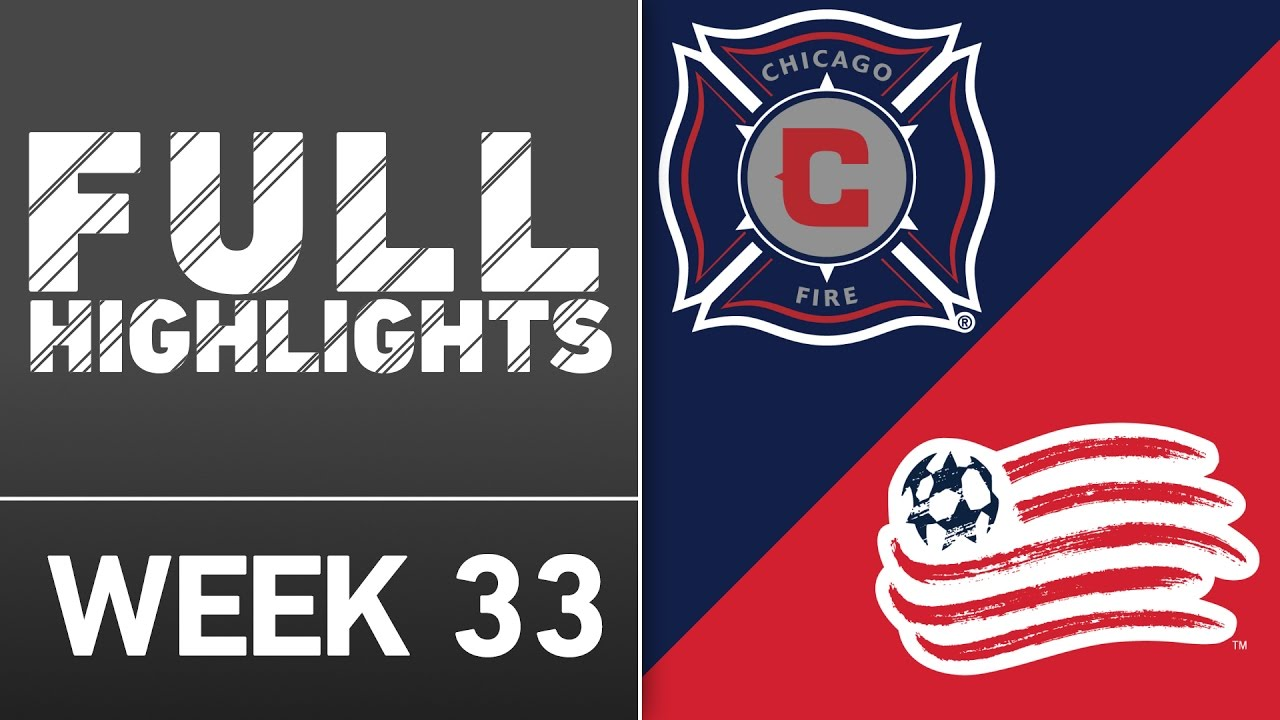 f88c42a10 HIGHLIGHTS | Chicago Fire vs. New England Revolution - YouTube