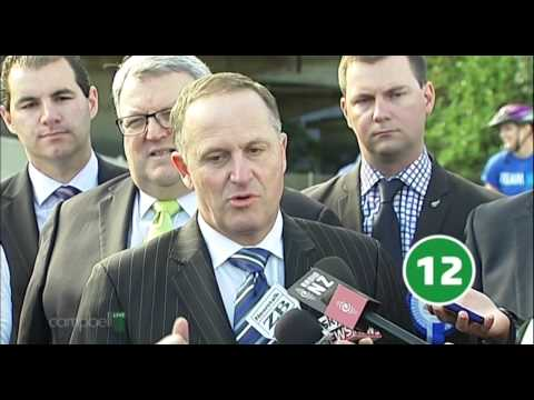 John Key End of the Day interviews