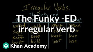 The funky -ed irregular verb | The parts of speech | Grammar | Khan Academy