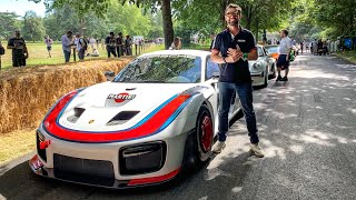 NEW Porsche 935 FIRST DRIVE & Crazy Sound!