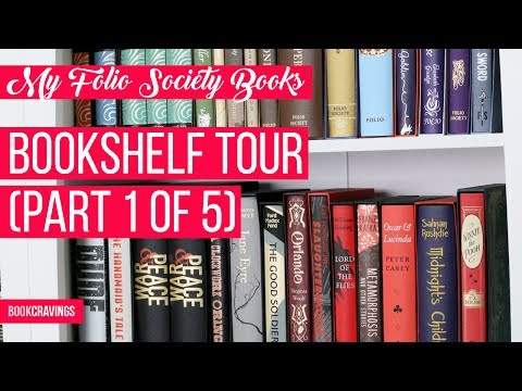 All My Folio Society Books | Bookshelf Tour (Part 1 of 5) | BookCravings