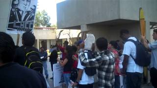 Long Beach City College Student Walk Out- May Day 2013