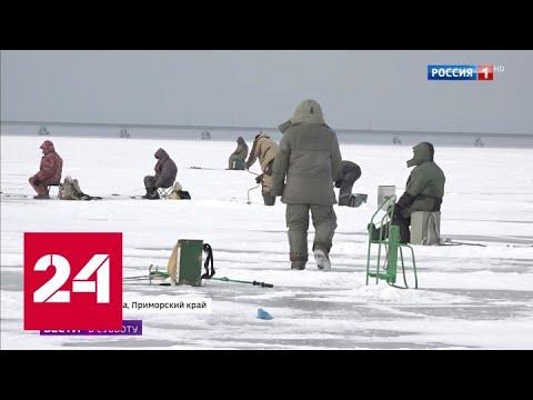 На тонком льду: ради улова рыбаки рискуют жизнью - Россия 24