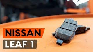 Jak vyměnit Brzdové Destičky NISSAN LEAF - video průvodce