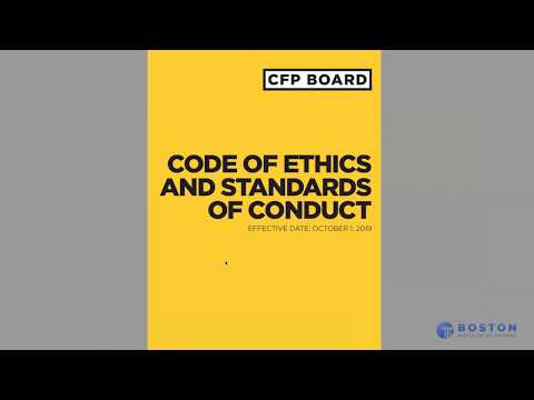 An Exam Taker's Guide to CFP® Board's New Code of Ethics and Standards of Conduct