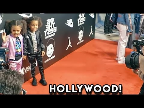 TWINS FIRST RED CARPET EXPERIENCE (fashion show)