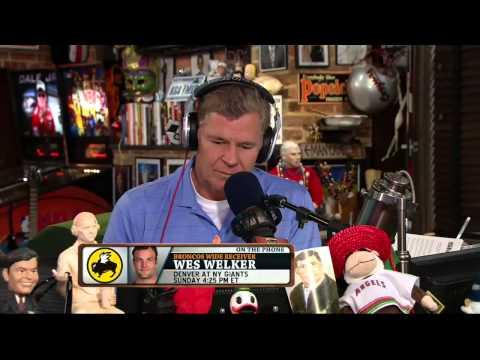 Wes Welker on the Dan Patrick Show 9/10/13