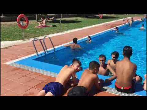 Primer día en las piscinas de A Valenzá