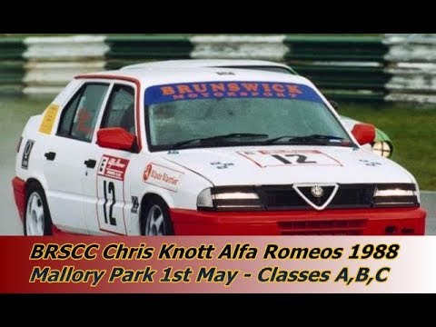 BRSCC Chris Knott Alfa Romeo Championship 1988 | Classes A, B & C