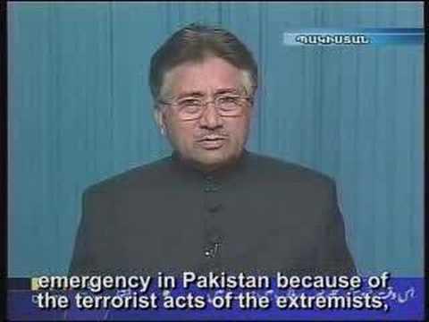 US criticizes President Musharraf