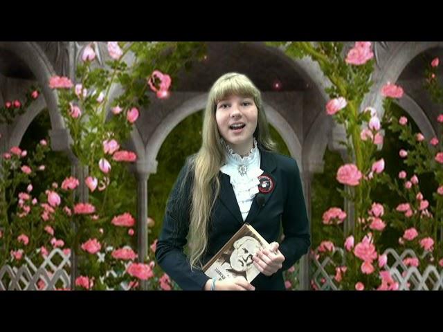 Изображение предпросмотра прочтения – АнастасияНазарова читает произведение «Как хороши, как свежи были розы ...» И.С.Тургенева