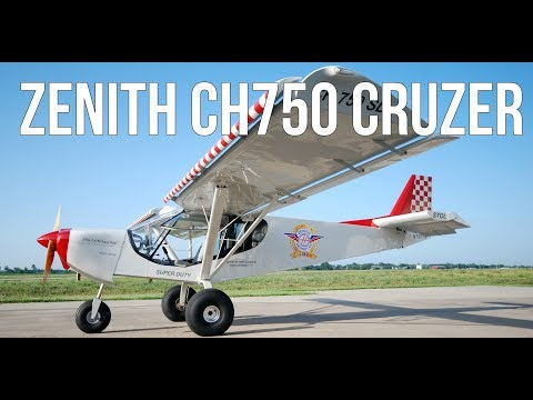 Build Your Own Airplane For Less Than $80,000: Homebuilt Zenith CH750 Cruzer
