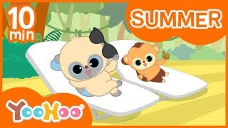 Summer Songs Compilation | Kids Song Compilation | Kids Music | Nursery Rhymes | Hello Aurora