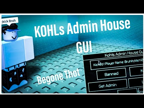 [Rekt Annoying People]Roblox kohls admin house script/hack| Roblox  Exploiting