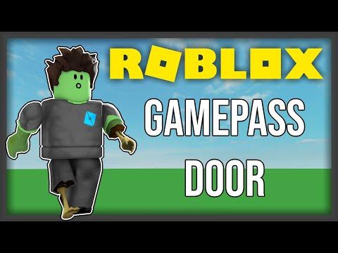 ROBLOX] - Gamepass Door Tutorial [UPDATED!!] - Video - ViLOOK