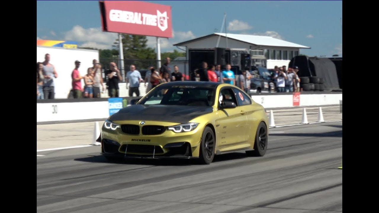 BMW M4 On E85 Turned up to 600whp Roll Racing