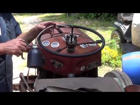 Massey Ferguson 35 Steering Box Removal Part 1