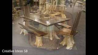 New 50 Log Wood DIY Creative Ideas 2016 - Log wood home ideas Part.2