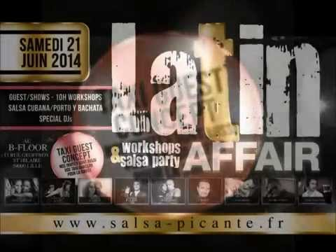 VIDEO LATIN AFFAIR LILLE  21 JUIN 2014