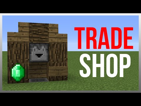 Minecraft 1.12: Redstone Tutorial - Best Trading System!