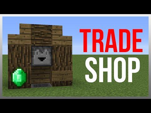 Minecraft 1.12: Redstone Tutorial - Best Trading System!