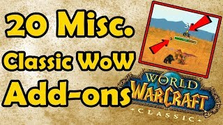 20 Miscellaneous Classic WoW Add-ons