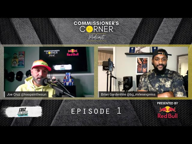 The Commissioner's Corner Podcast Ep. 1 with Cha-Ching, Edgar Burgos, Truck Bryant and Smush Parker