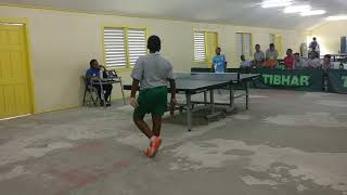 InterSecondary School  Singles Table Tennis Semi Finals Game 1 2018 Svgss vs Svgss