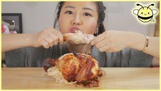 chicken eating challenge