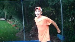 how to do a front flip on a trampoline easy way