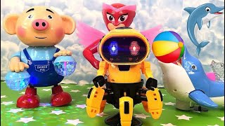Toy Crab, PJ Masks and Piggy Dancing Toys For Babies