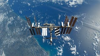 International Space Station NASA Live View With Map - 393 - 2019-12-08
