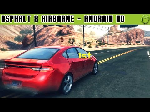 Asphalt 8: Airborne - Gameplay Android HD / HQ Audio (Android Games HD)