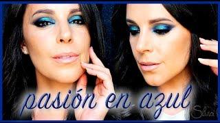 Tutorial Maquillaje Pasión en Azul | Silvia Quiros Makeup