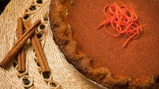 Golden Carrot Pie - Healthy Food - Diabetic Food - How To