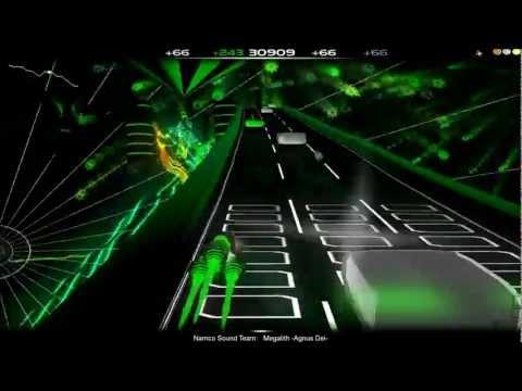 Audiosurf - Megalith (Agnus Dei) - (Ace Combat 4 soundtrack) Casual Mono, Ironmode