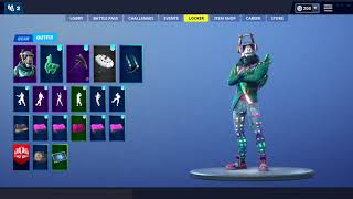 Top 3 Skins That Go With *EMERALD* Crystal LLama Back Bling-Fortnite