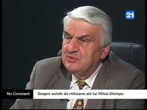 Despre sutele de milioane ale lui Mihai Ghimpu
