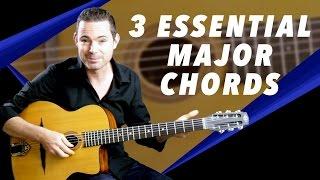 3 Essential Major Chords For Gypsy Jazz Guitar